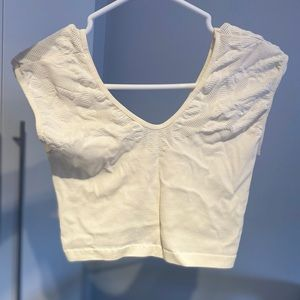 Stretchy cropped camisole